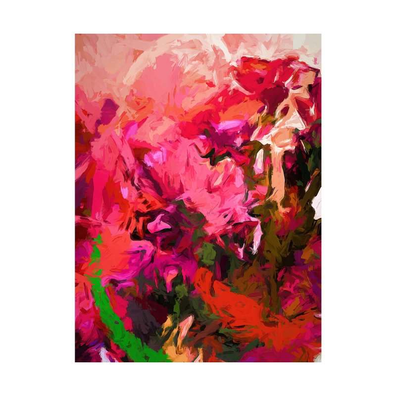 Flower Flames Soul Pink Orange Green by jackievano's Artist Shop