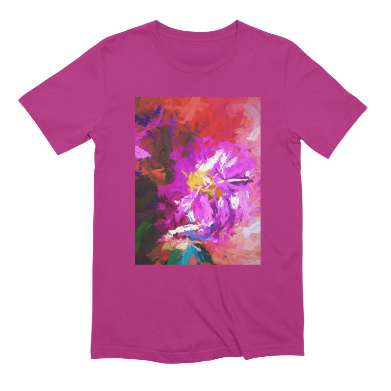The Lavender Flower of Sweet Delight Men's Extra Soft T-Shirt by jackievano's Artist Shop