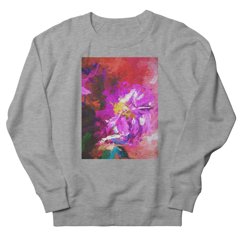 The Lavender Flower of Sweet Delight Women's French Terry Sweatshirt by jackievano's Artist Shop