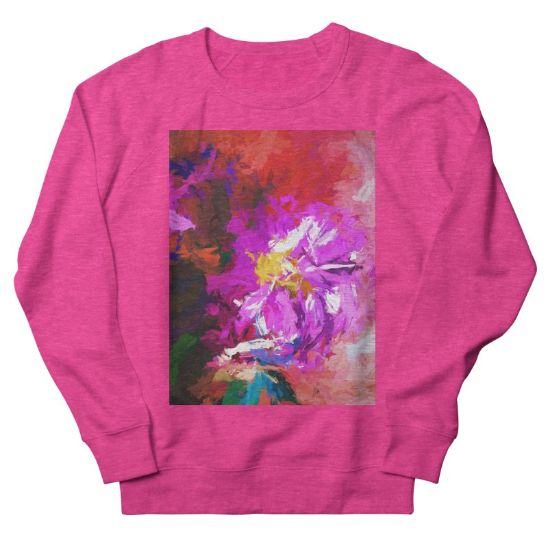 The Lavender Flower of Sweet Delight Men's French Terry Sweatshirt by jackievano's Artist Shop