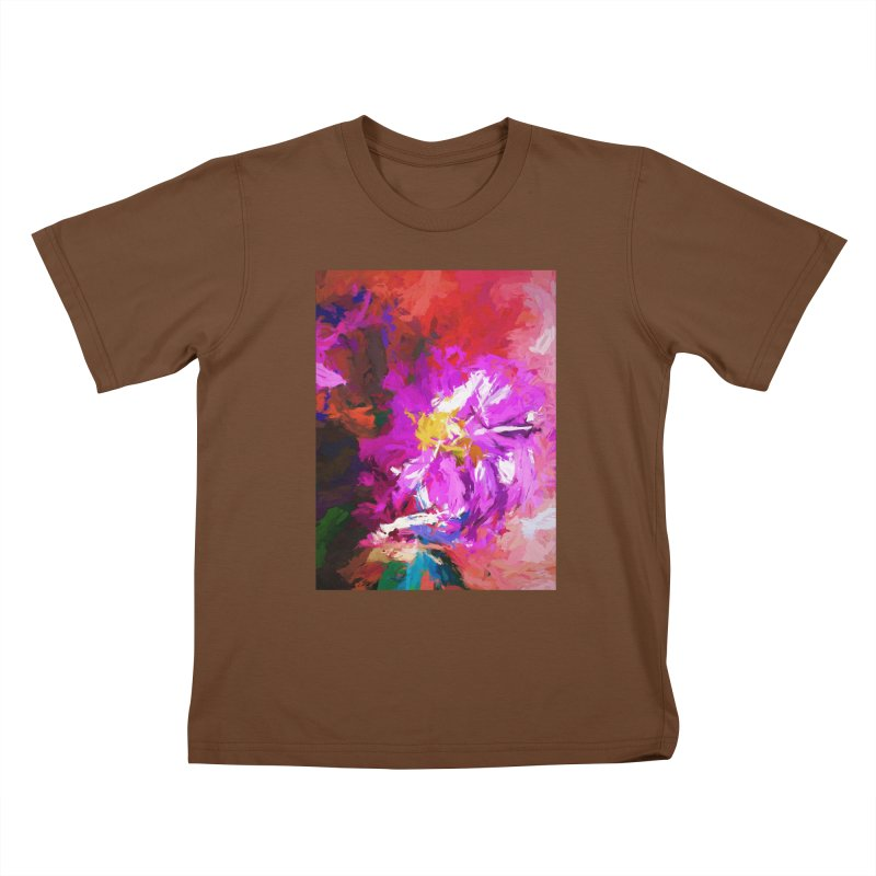 The Lavender Flower of Sweet Delight Kids T-Shirt by jackievano's Artist Shop