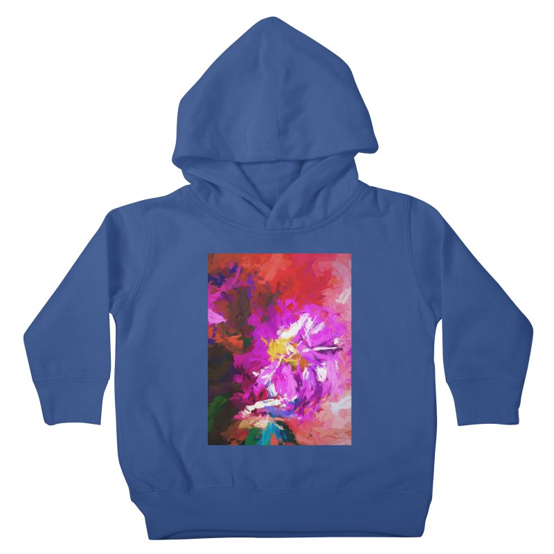 The Lavender Flower of Sweet Delight Kids Toddler Pullover Hoody by jackievano's Artist Shop