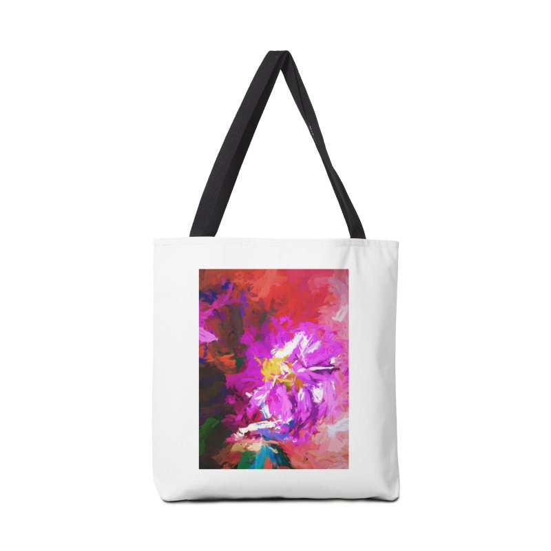 The Lavender Flower of Sweet Delight Accessories Bag by jackievano's Artist Shop