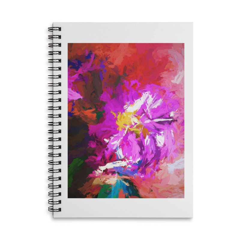 The Lavender Flower of Sweet Delight Accessories Notebook by jackievano's Artist Shop