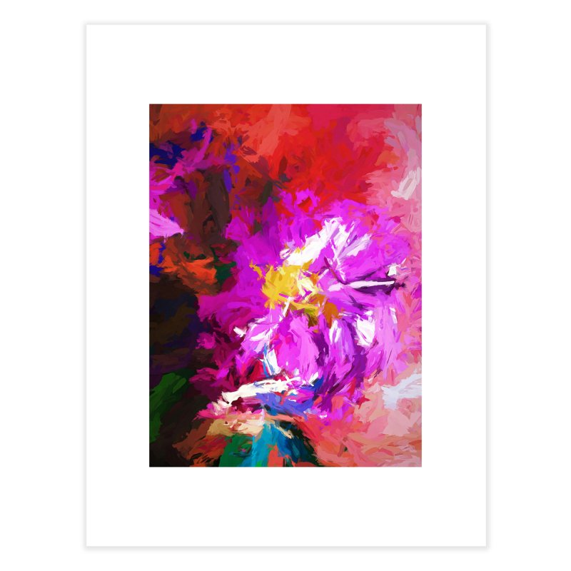 The Lavender Flower of Sweet Delight Home Fine Art Print by jackievano's Artist Shop