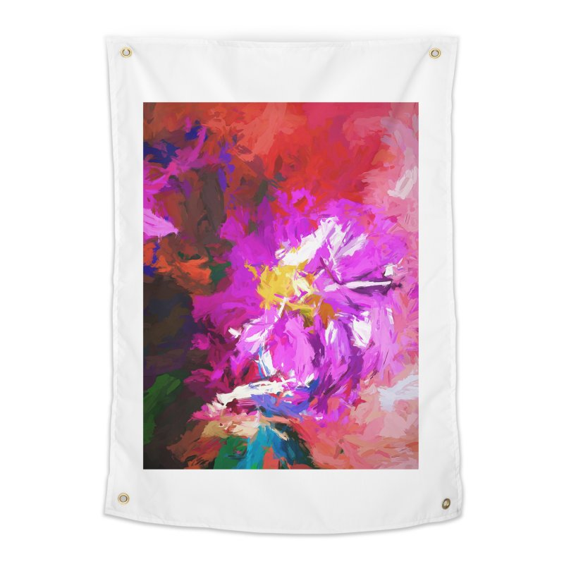 The Lavender Flower of Sweet Delight Home Tapestry by jackievano's Artist Shop