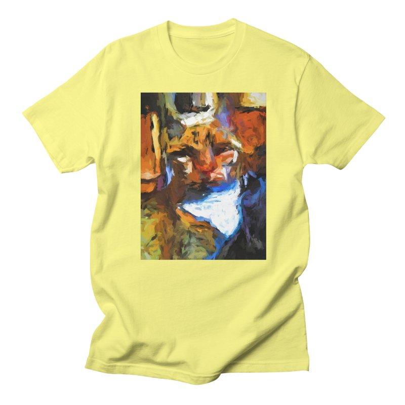 Cat Behind Cat in the Kitchen Women's Regular Unisex T-Shirt by jackievano's Artist Shop