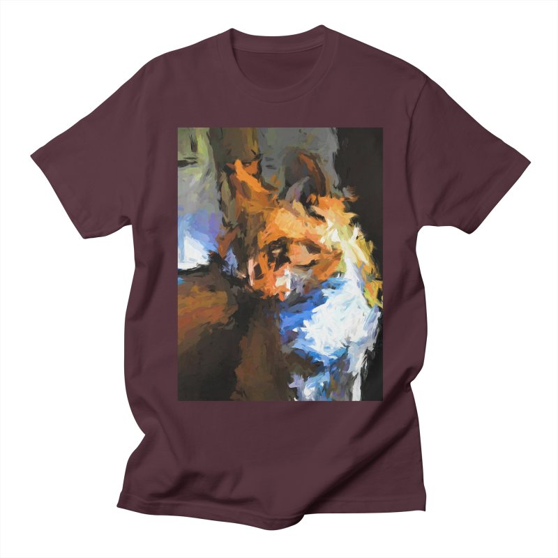 Cat with the Turned Head Women's Regular Unisex T-Shirt by jackievano's Artist Shop