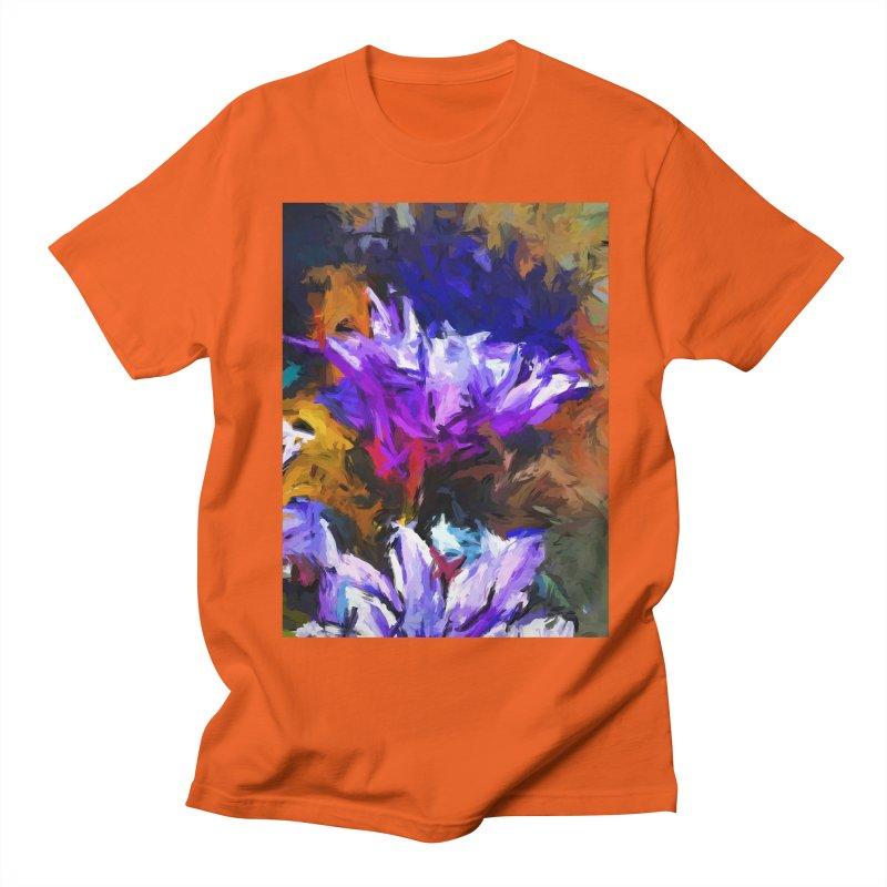 Lavender Flower and the Cobalt Blue Reflection Women's Regular Unisex T-Shirt by jackievano's Artist Shop
