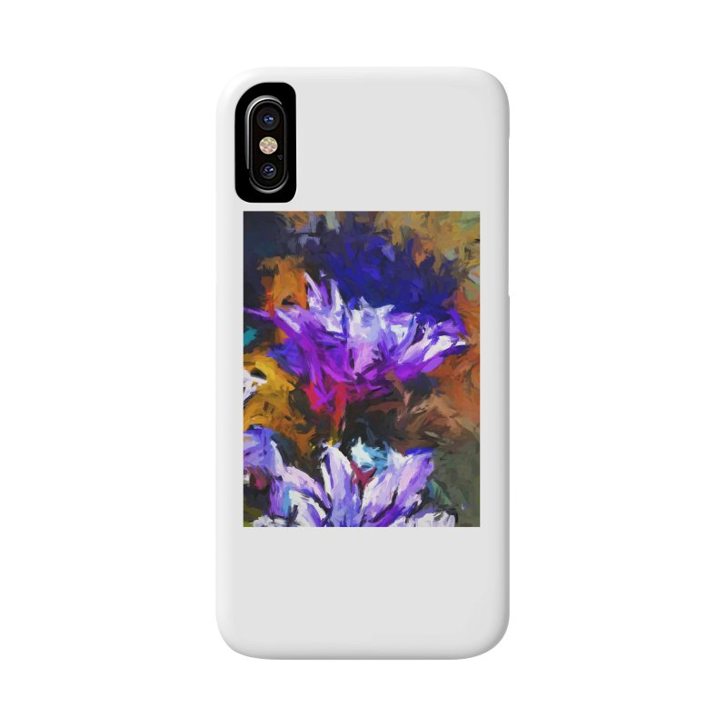 Lavender Flower and the Cobalt Blue Reflection Accessories Phone Case by jackievano's Artist Shop