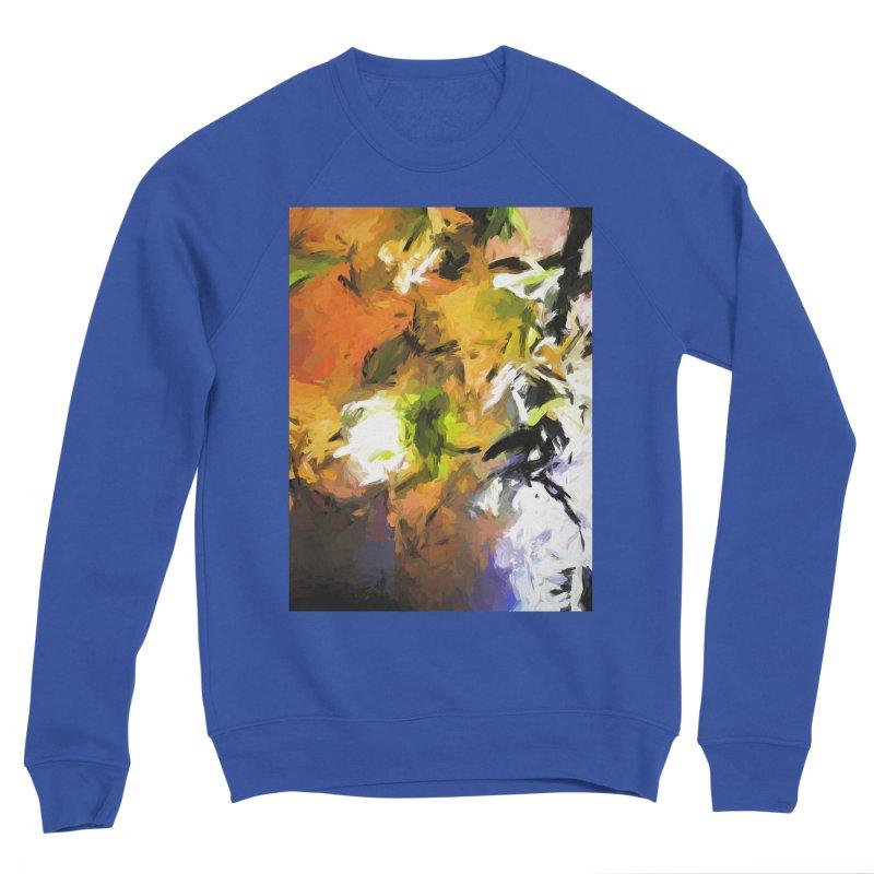 Lily for the Horses Men's Sponge Fleece Sweatshirt by jackievano's Artist Shop