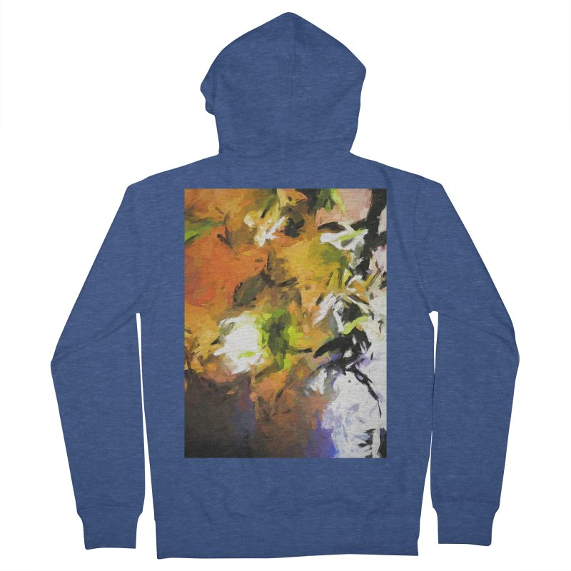 Lily for the Horses Women's French Terry Zip-Up Hoody by jackievano's Artist Shop