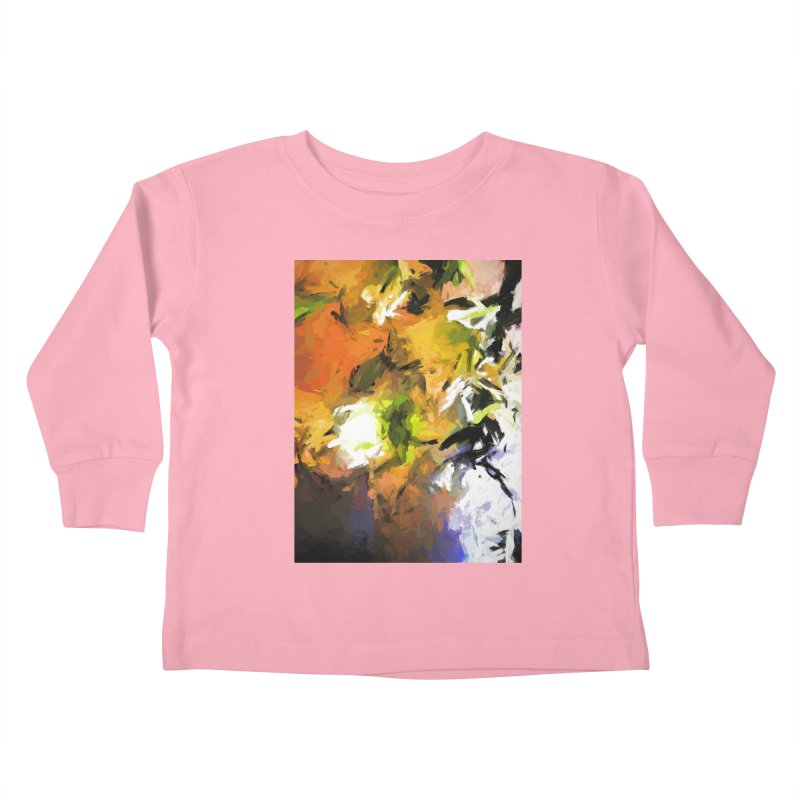 Lily for the Horses Kids Toddler Longsleeve T-Shirt by jackievano's Artist Shop