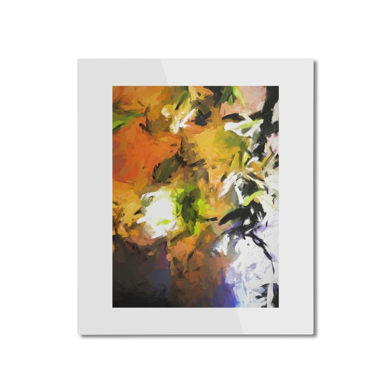 Lily for the Horses Home Mounted Aluminum Print by jackievano's Artist Shop