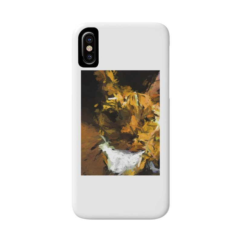Cat Up Close Accessories Phone Case by jackievano's Artist Shop