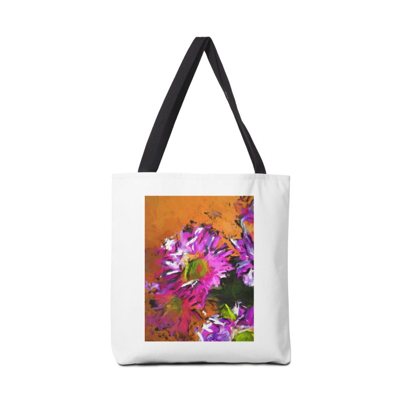 Daisy Rhapsody in Lavender and Pink Accessories Bag by jackievano's Artist Shop