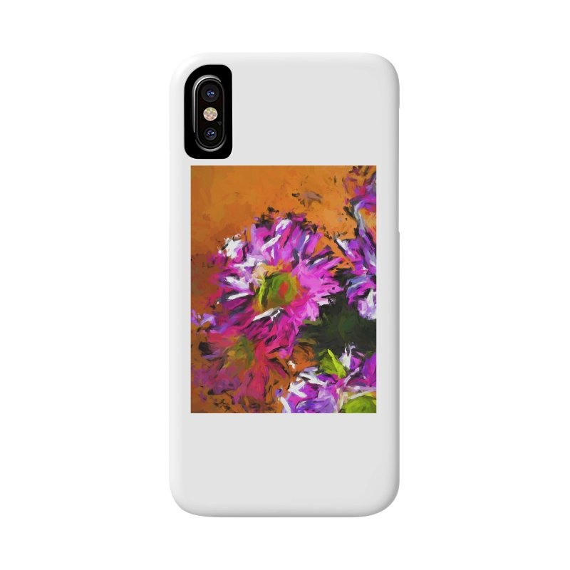 Daisy Rhapsody in Lavender and Pink Accessories Phone Case by jackievano's Artist Shop