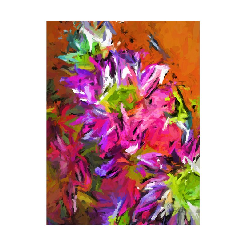 Daisy Rhapsody in Purple and Pink by jackievano's Artist Shop