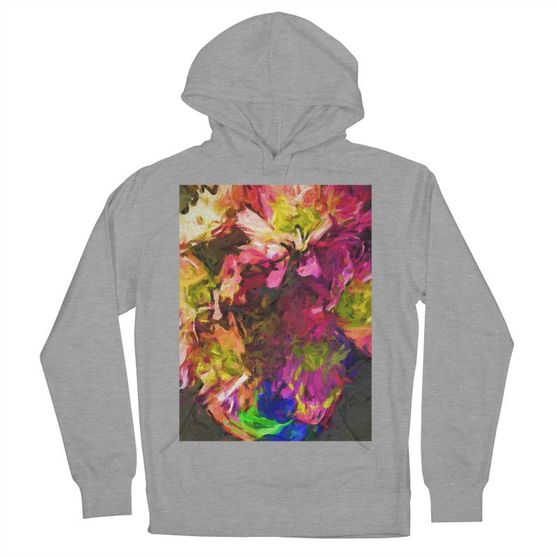 Flower Colour Love 1 Women's French Terry Pullover Hoody by jackievano's Artist Shop