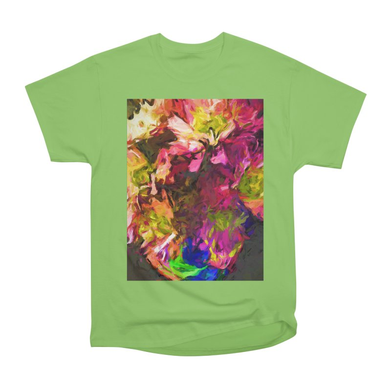 Flower Colour Love 1 Men's Heavyweight T-Shirt by jackievano's Artist Shop