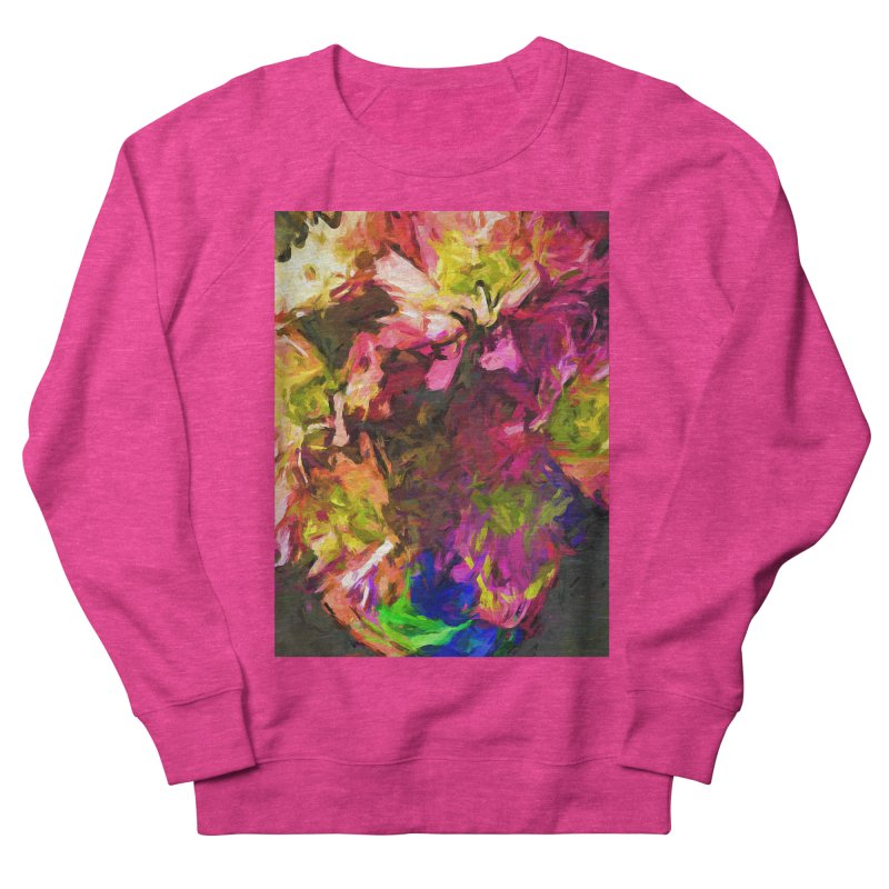 Flower Colour Love 1 Men's French Terry Sweatshirt by jackievano's Artist Shop