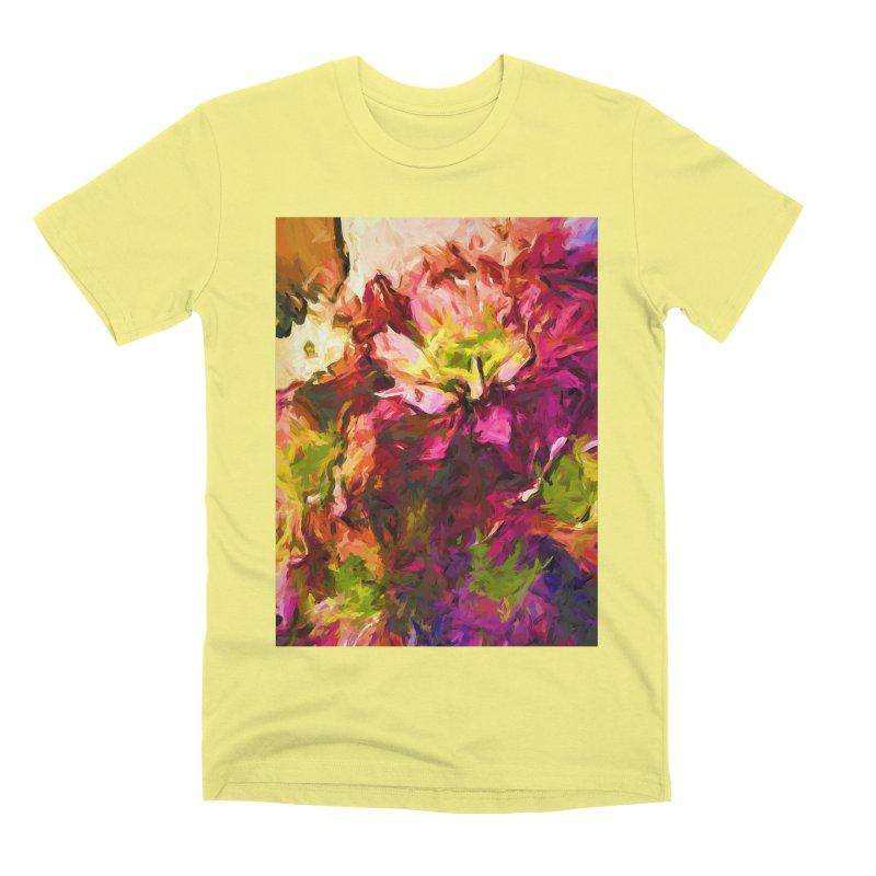 Flower Colour Love 2 Men's Premium T-Shirt by jackievano's Artist Shop
