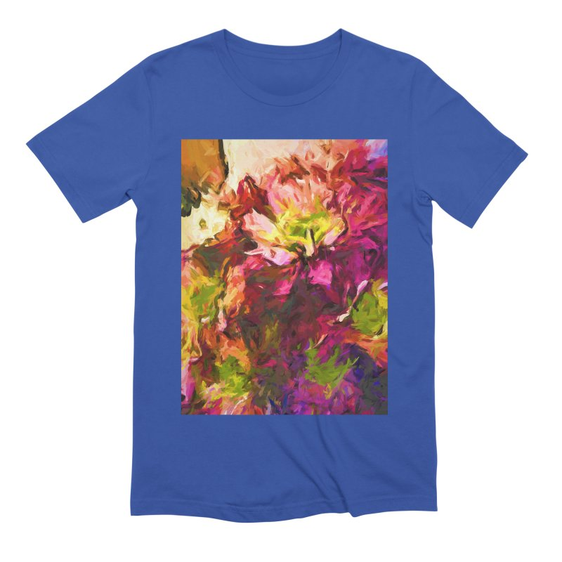 Flower Colour Love 2 Men's Extra Soft T-Shirt by jackievano's Artist Shop