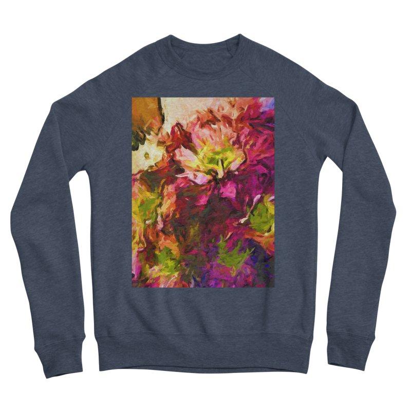 Flower Colour Love 2 Men's Sponge Fleece Sweatshirt by jackievano's Artist Shop