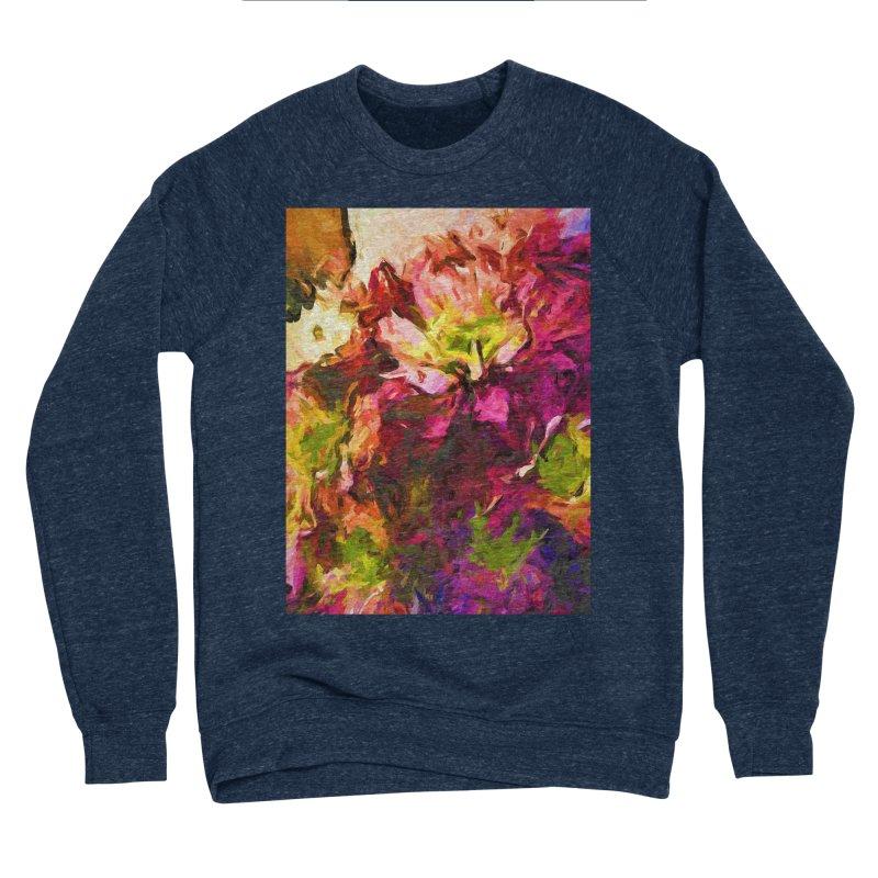 Flower Colour Love 2 Women's Sponge Fleece Sweatshirt by jackievano's Artist Shop