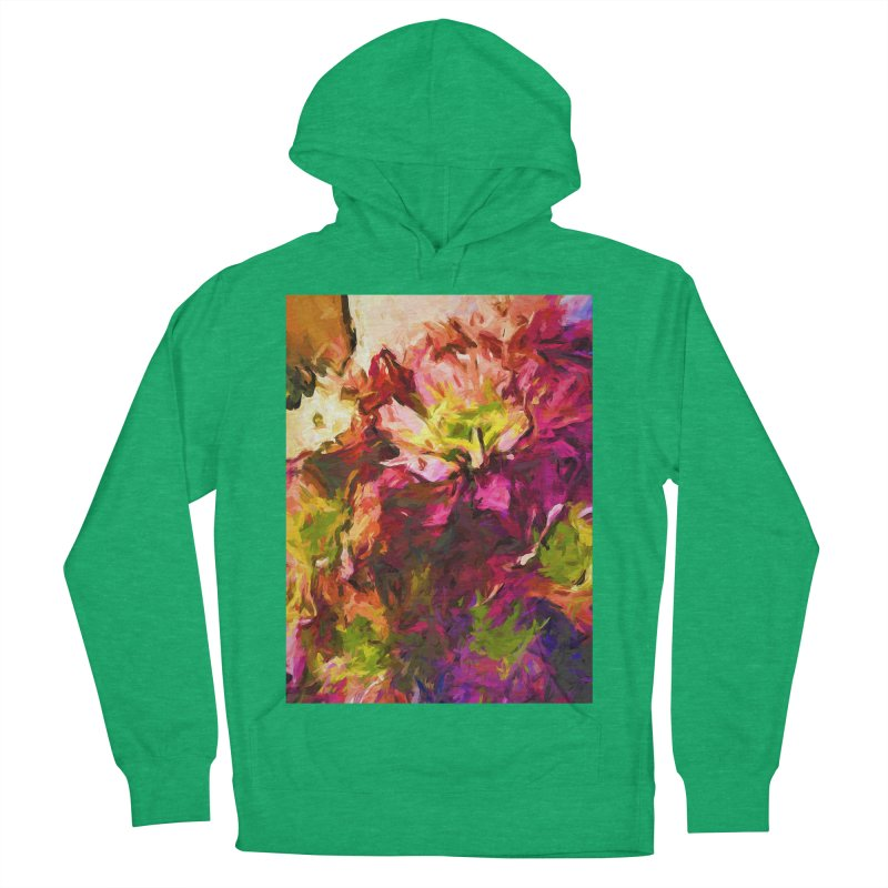 Flower Colour Love 2 Women's French Terry Pullover Hoody by jackievano's Artist Shop