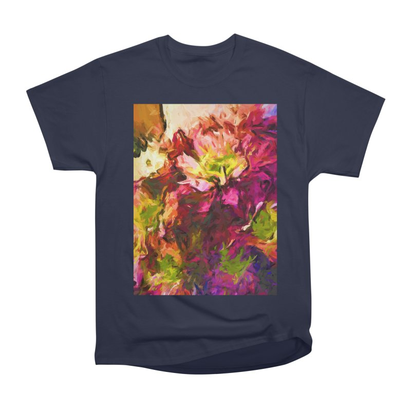 Flower Colour Love 2 Men's Heavyweight T-Shirt by jackievano's Artist Shop