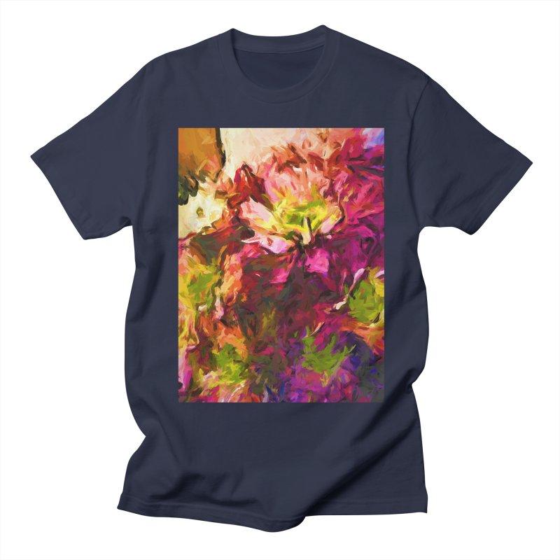 Flower Colour Love 2 Women's Regular Unisex T-Shirt by jackievano's Artist Shop