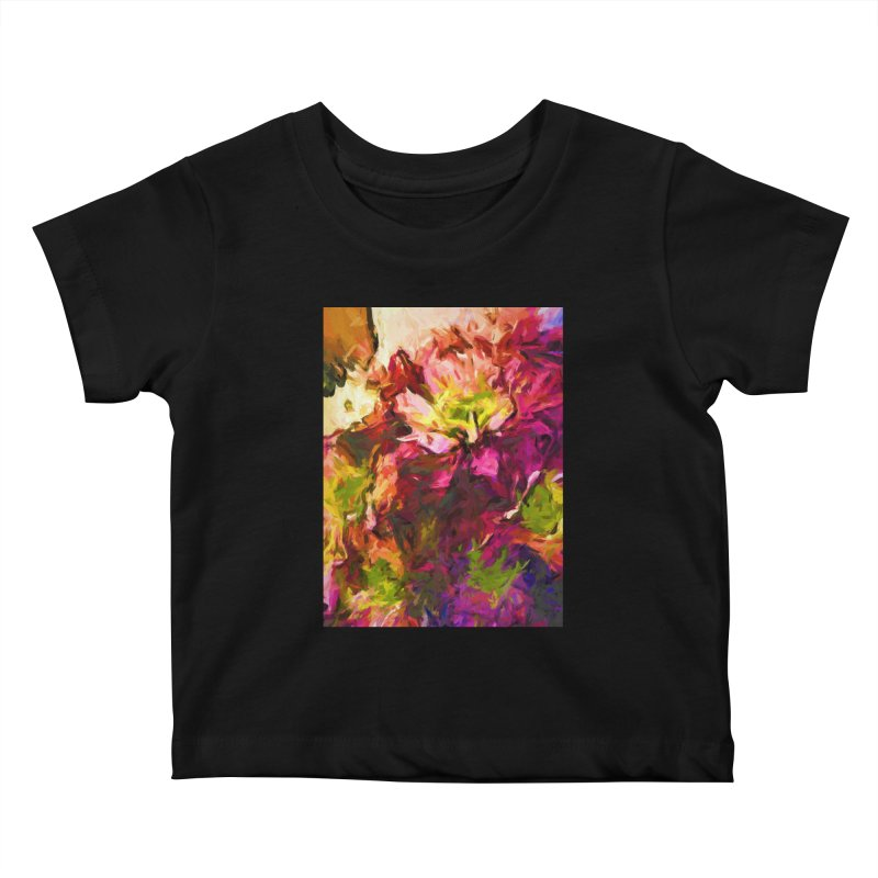 Flower Colour Love 2 Kids Baby T-Shirt by jackievano's Artist Shop