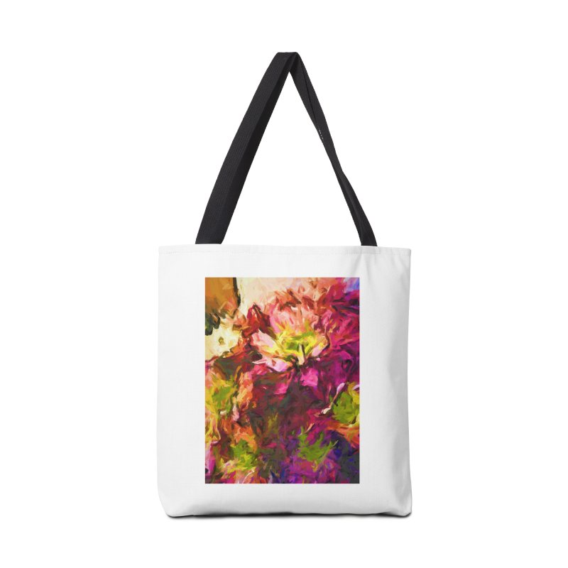 Flower Colour Love 2 Accessories Bag by jackievano's Artist Shop