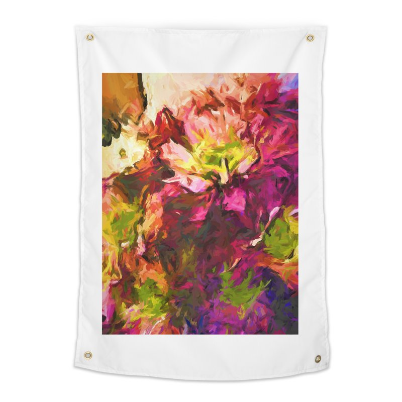 Flower Colour Love 2 Home Tapestry by jackievano's Artist Shop