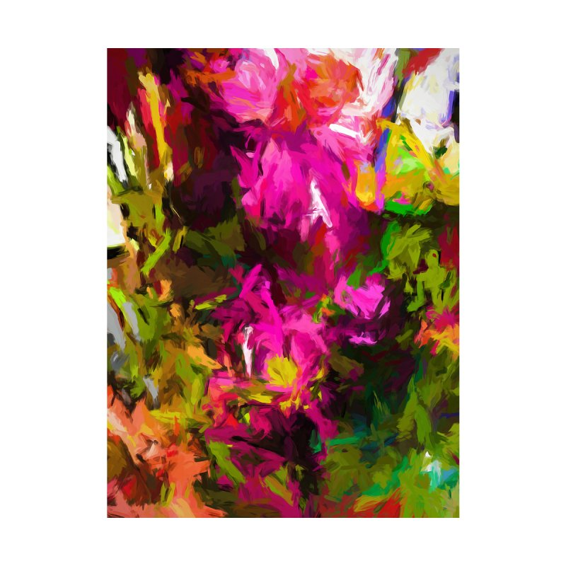 Magenta Flower Buds Climb by jackievano's Artist Shop