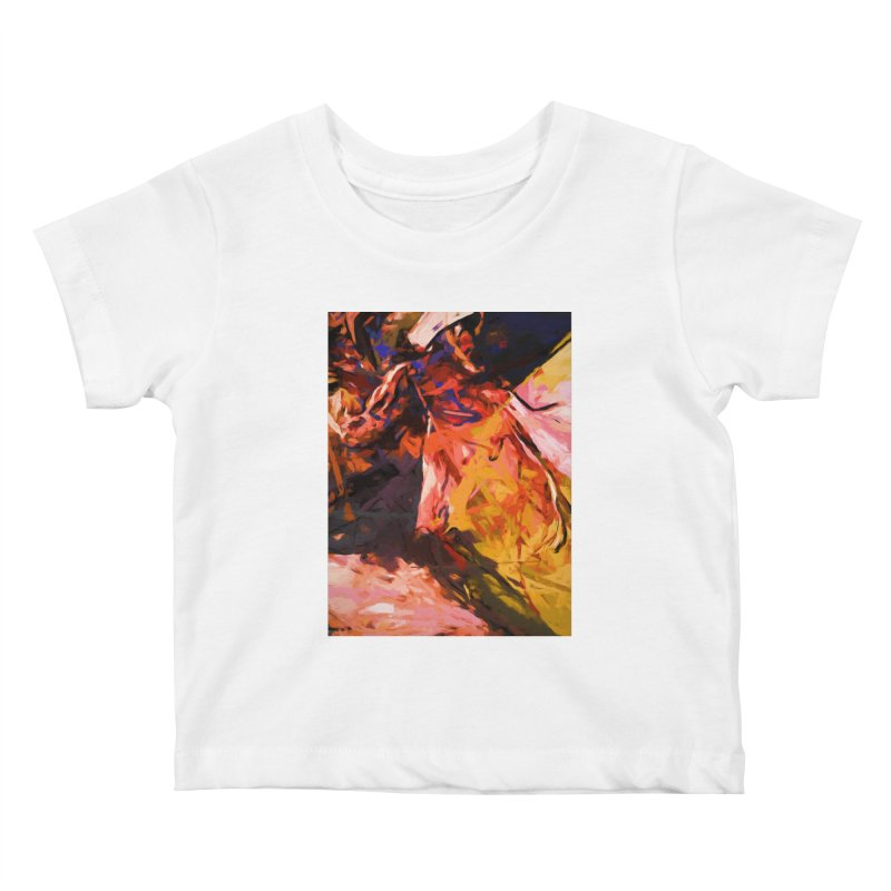 Fallen Lily Petals Kids Baby T-Shirt by jackievano's Artist Shop