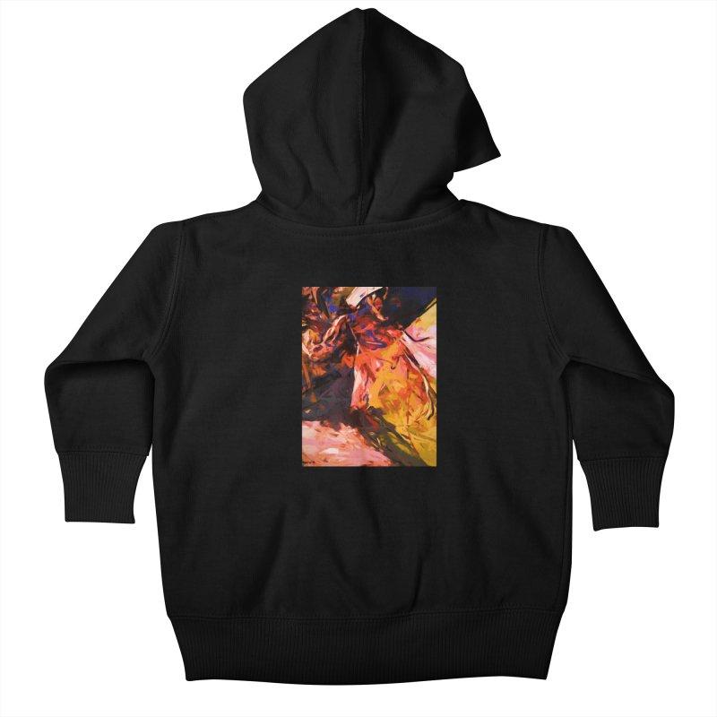 Fallen Lily Petals Kids Baby Zip-Up Hoody by jackievano's Artist Shop