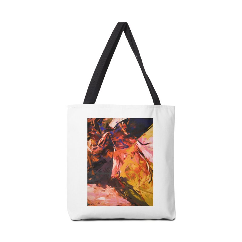 Fallen Lily Petals Accessories Bag by jackievano's Artist Shop