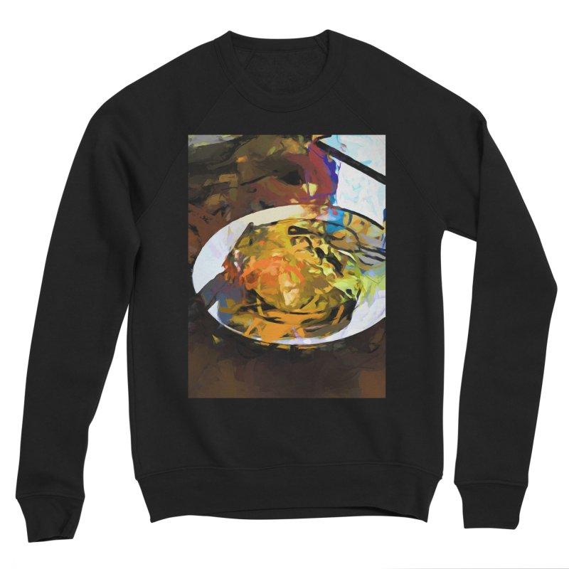 Fried Egg for Brekkie Women's Sponge Fleece Sweatshirt by jackievano's Artist Shop