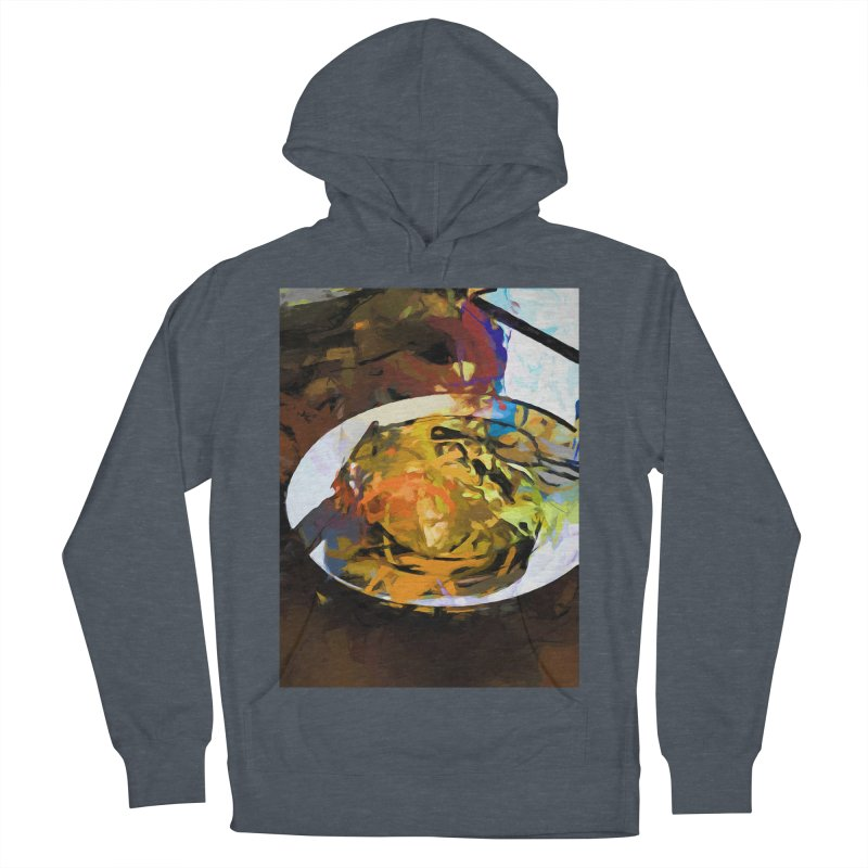 Fried Egg for Brekkie Women's French Terry Pullover Hoody by jackievano's Artist Shop