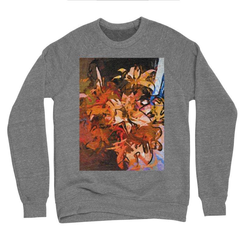 Maelstrom of Orange Lily Flowers Women's Sponge Fleece Sweatshirt by jackievano's Artist Shop