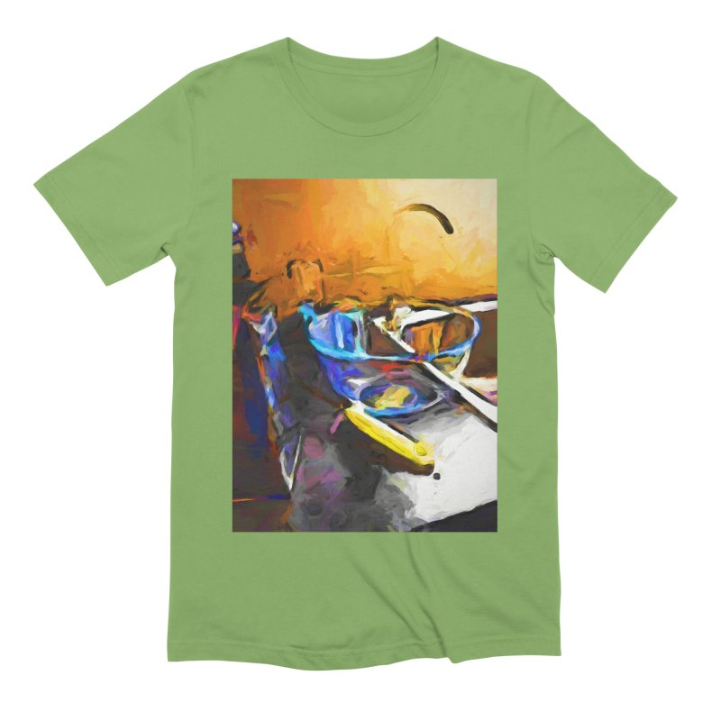 Glass Bowl with Cheese Grater Men's Extra Soft T-Shirt by jackievano's Artist Shop
