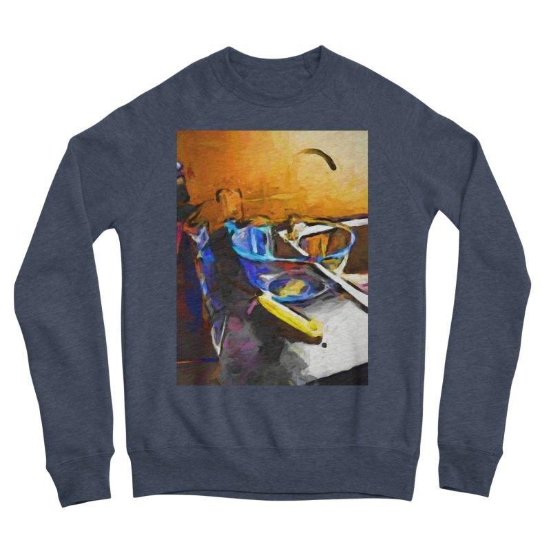 Glass Bowl with Cheese Grater Men's Sponge Fleece Sweatshirt by jackievano's Artist Shop