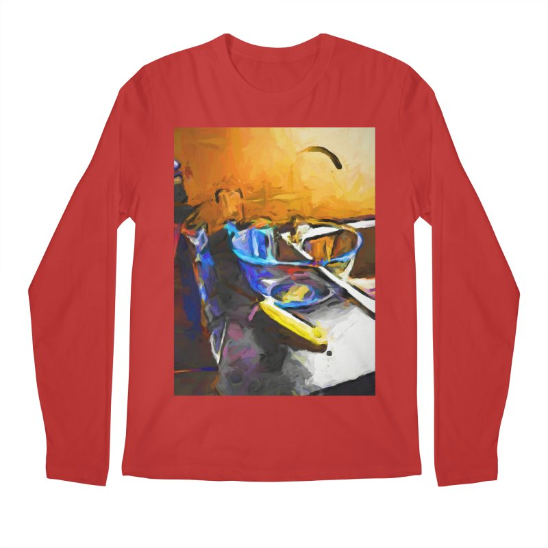 Glass Bowl with Cheese Grater Men's Regular Longsleeve T-Shirt by jackievano's Artist Shop
