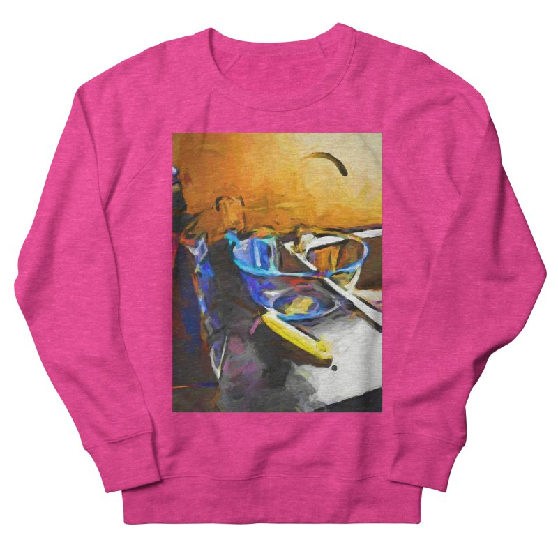 Glass Bowl with Cheese Grater Women's French Terry Sweatshirt by jackievano's Artist Shop