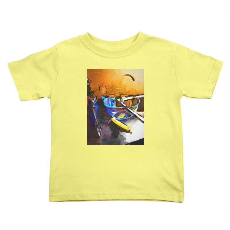 Glass Bowl with Cheese Grater Kids Toddler T-Shirt by jackievano's Artist Shop