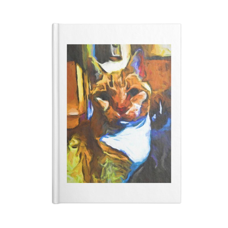 Cats in Shadows and Light Accessories Notebook by jackievano's Artist Shop