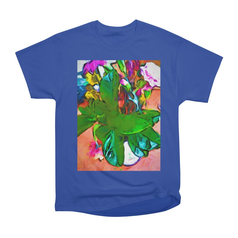 Vase with Plant Men's Heavyweight T-Shirt by jackievano's Artist Shop