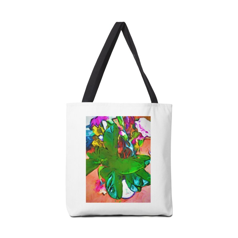 Vase with Plant Accessories Bag by jackievano's Artist Shop